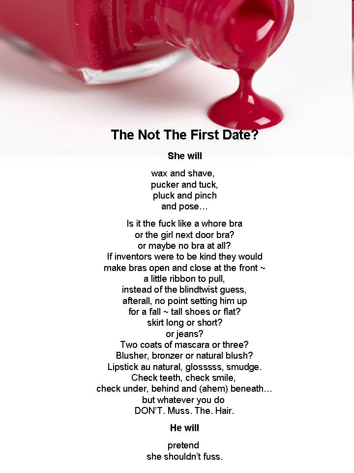 speed dating poems